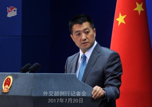 中国外交部:印方非法越界人员撤回印度是中印对话前提