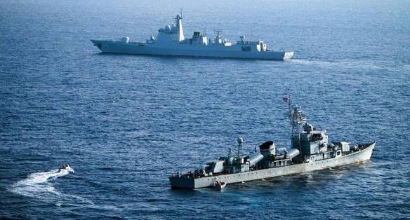 中俄拉开军演大幕 巩固俄中海军间的紧密合作