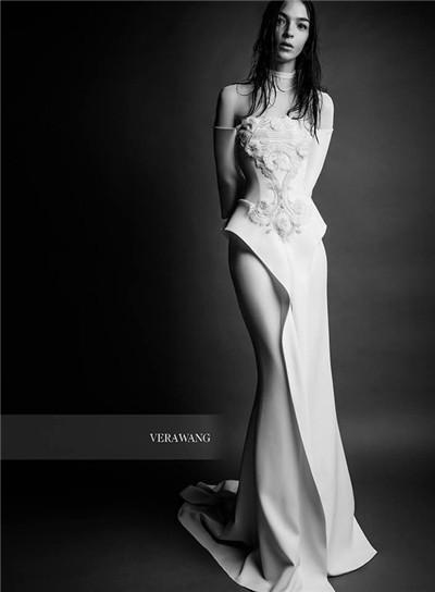 Vera Wang(王薇薇)释出2018春夏婚纱系列广告大片