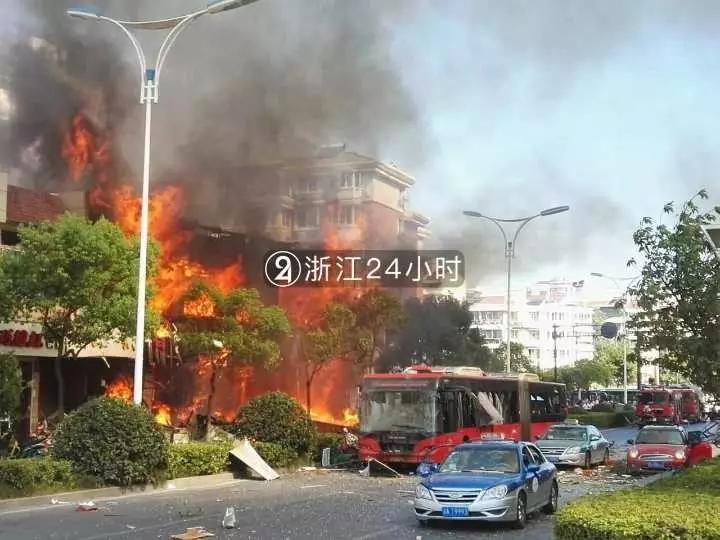 杭州爆炸事故原因初步查明:餐馆瓶装液化气发生燃爆引发