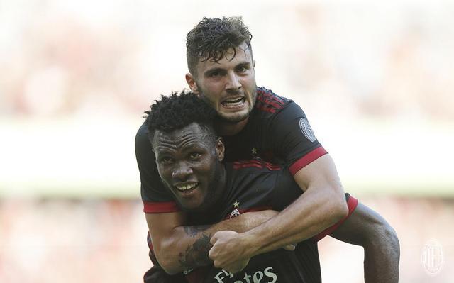 2017国际冠军杯中国区 拜仁0-4惨败在米兰脚下