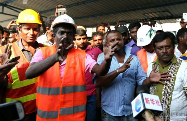 斯里兰卡工人罢工 新方案降低中方持股比例