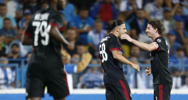 欧联杯资格赛-AC米兰客场1比0战胜克拉约瓦