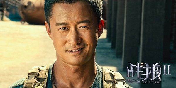 《战狼2》票房火线破亿 首日票房吊打《建军大业》