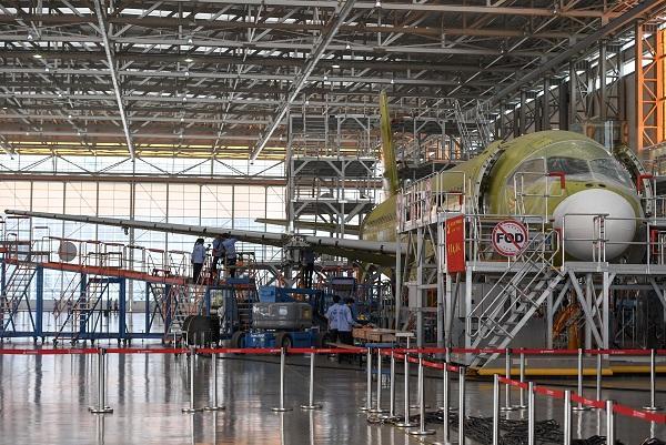 国产飞机C919将多地试飞 订单总数达到600架