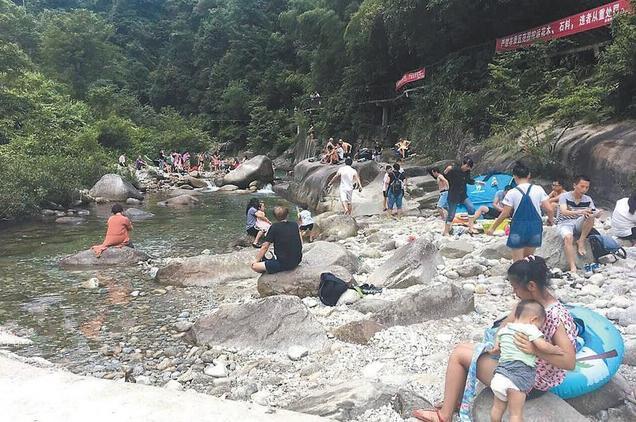 桂林峡谷突发山洪 后续工作正有序进行