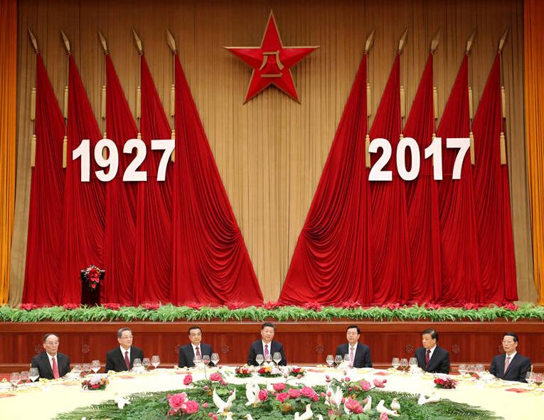 建军90周年庆祝大会今日上午10点举行 这些频道可直播 坐等~
