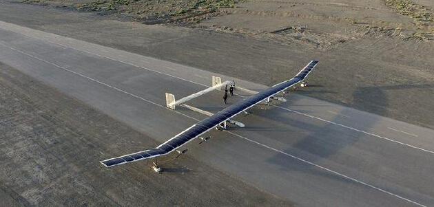 45米太阳能无人机:无需加油无限续航 2万米高空无限飞行