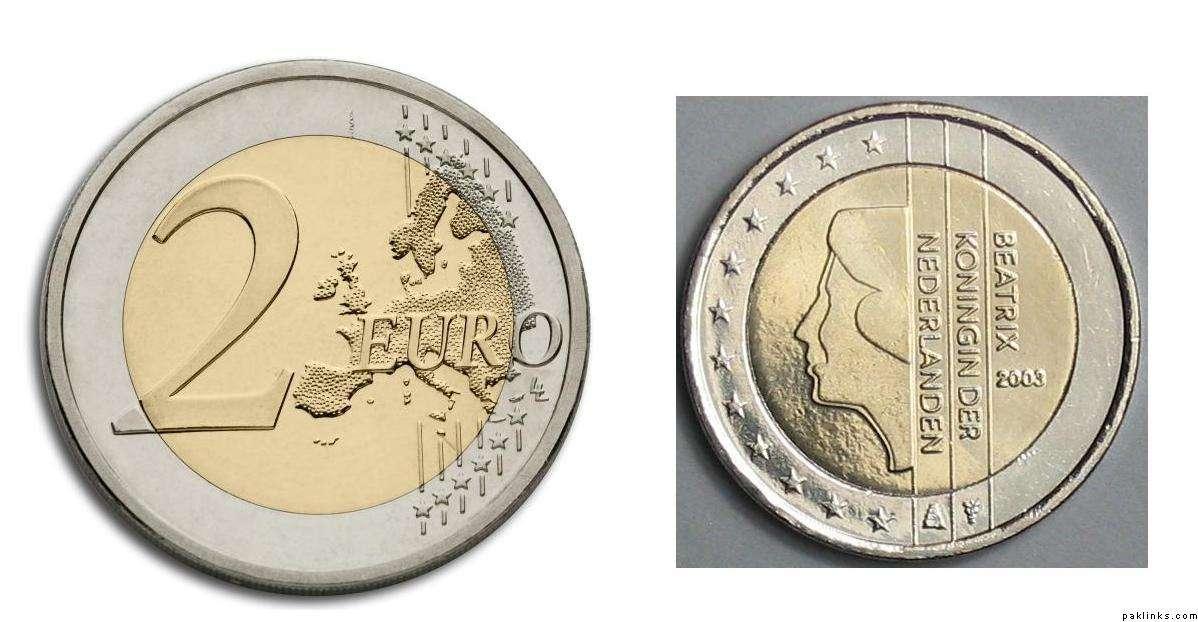 欧元硬币图片大全图片