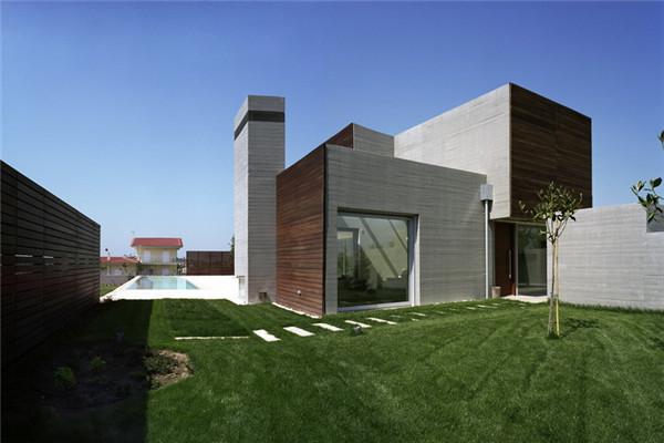 Larissa豪宅:向住客呈现五彩纷呈的四季景观