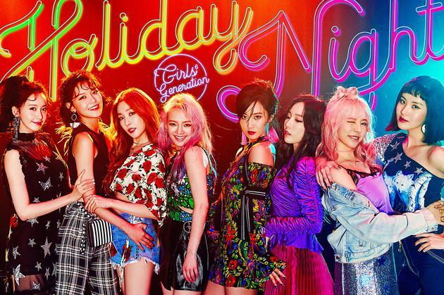 少女时代将公开《Holiday Night》 实体专辑将于7日销售