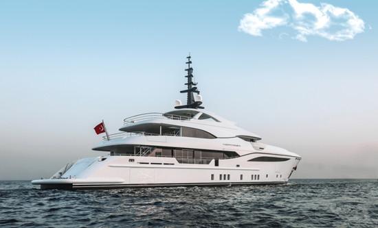 首艘Bilgin 156项目48米Nerissa游艇于土耳其正式发布