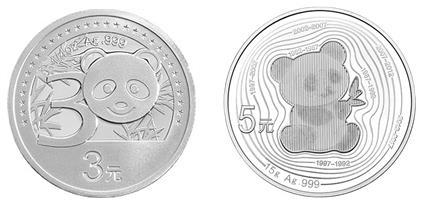 2012年卡通熊猫银币是收藏投资的首选