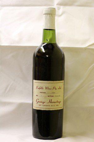 全套奔富葛兰许干红葡萄名酒拍卖 预估价28万澳元