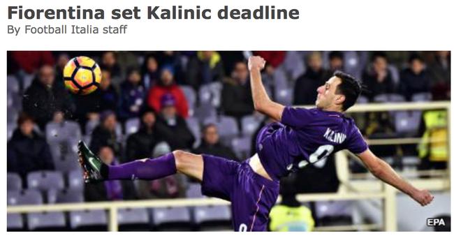 AC米兰遭最后通牒 卡利尼奇的交易能否成功?