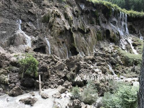 九寨沟诺日朗瀑布垮塌 系86版西游记取景地