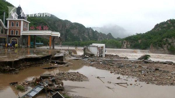 辽宁暴雨已致73万人受灾 直接经济损失61.88亿元