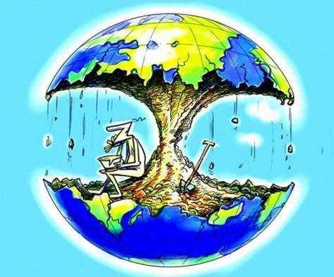 地球发来欠费通知:过度使用生态资源 超越地球承载力