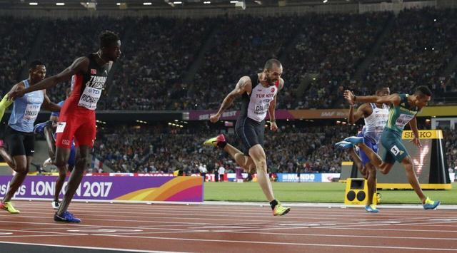 """古利耶夫夺200米冠军 世界男子200米""""改朝换代""""的世锦赛"""