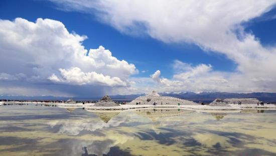 可可西里盐湖6年面积扩大3.4倍 将威胁到青藏铁路运行安全