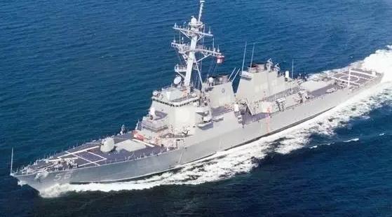 美舰擅入我南海岛礁邻近海域 查证识别后警告驱离