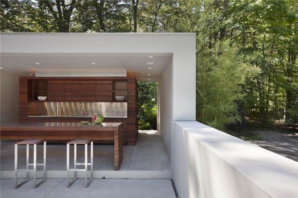 Canaan豪宅:拥有能随着季节变化的视觉性外观