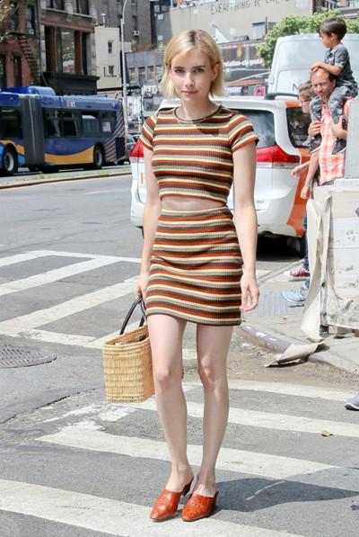 时尚达人街拍造型示范 适当露肤才是夏天正确打开方式