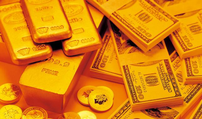 美指由涨转跌 现货黄金高处不胜寒