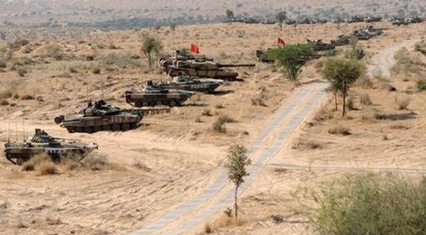 中印对峙最新消息:印军边境举行演习 让部队熟悉可能的作战区域