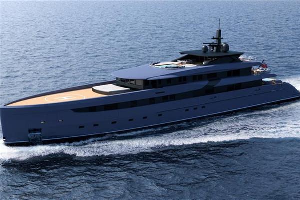 Ferrari发布全新65.6米F65游艇 采用钢铝结构上层建筑