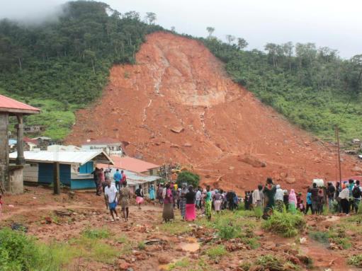 塞拉利昂首都突发泥石流 死亡人数已经上升致312人