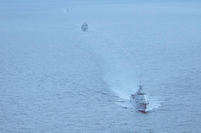 中国海军舰艇编队再次通过荷兰海域 进行一系列港岸交流活