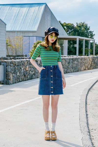 夏日服装流行趋势示范 条纹元素才是时尚圈常青藤