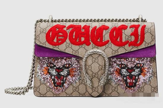 复古又不失现代感 Gucci推出全新2017早秋系列包包