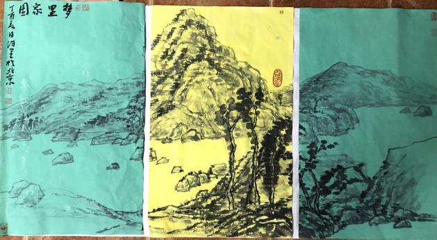 庆祝中徳两国建交45周年 艺术家作品展赏析