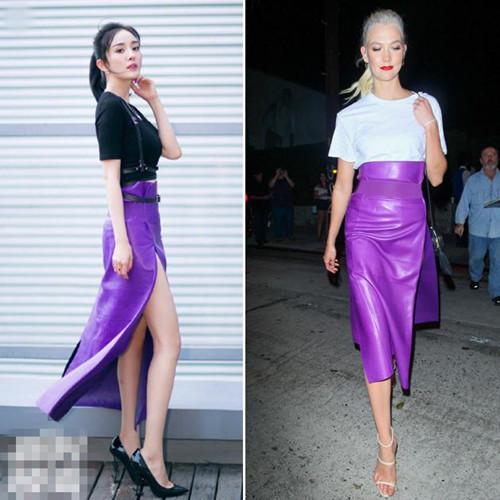 欧美服装流行趋势示范 紫色单品风潮来袭