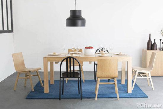 三款材质餐桌让餐厅更时尚