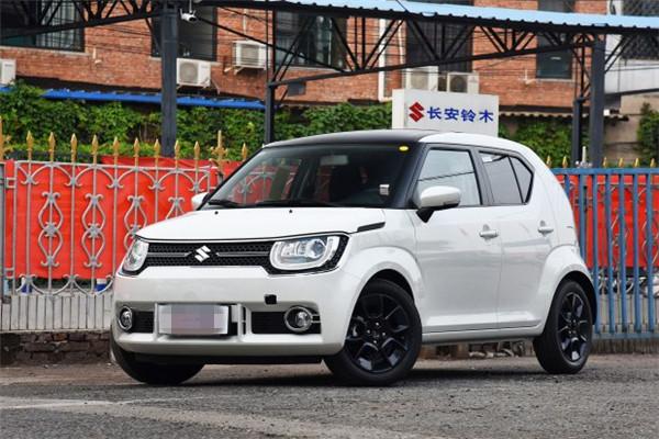 铃木名车品牌全新英格尼斯实车到店 预售价13.8万元