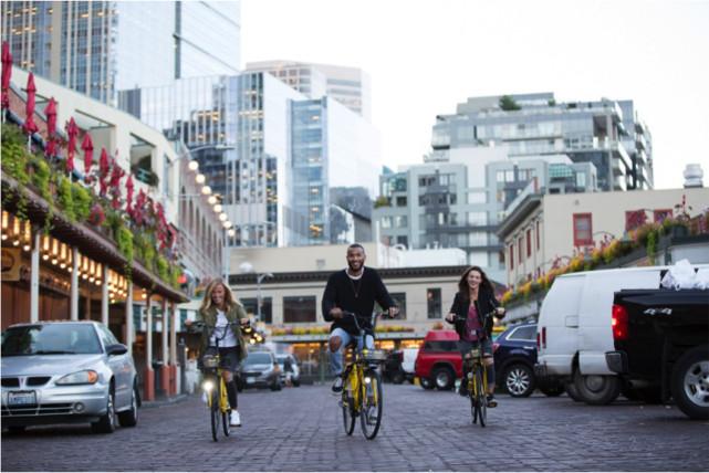 中国共享单车杀入美国 ofo的存在解决城市交通'最后一公里'