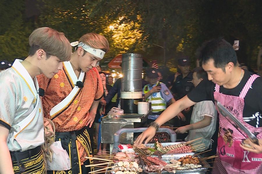 《极挑》罗志祥张艺兴逛成都 为自保公开体重携手小猪一路吃