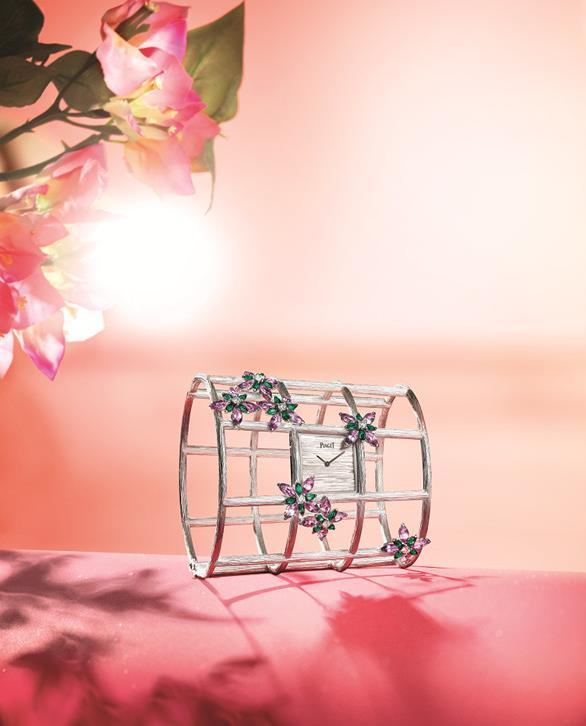 Piaget伯爵推出Sunlight Journey高级珠宝腕表系列