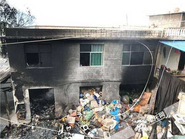 重庆收购站起火 未造成人员伤亡