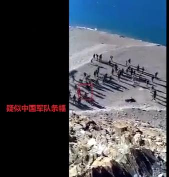 中印对峙最新消息:中印掷石块视频曝光 印军投掷石块在先