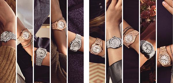 爱彼表七夕推出皇家橡树系列女装腕表