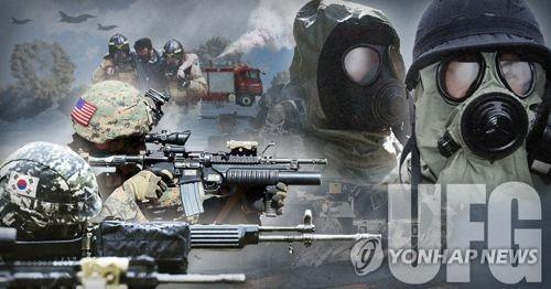 韩美启动联合军演 5万名韩军和1.75万名美军兵力参演