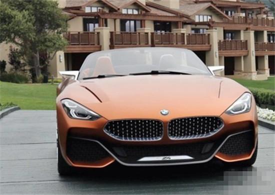 宝马全新Z4车型正式亮相 采用天使眼布局打造