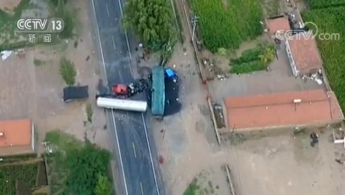 宁夏同心三车连撞 事故造成一人死亡两人重伤