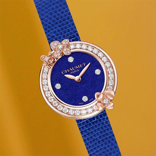 尚美巴黎推出Hortensia Eden绣球花伊甸园系列腕表