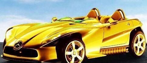 黄金跑车_黄金跑车图片_黄金跑车多少钱_黄金跑车有几辆_黄金跑车什么牌子-金投黄金网