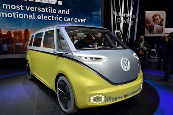 大众名车品牌官方确认I.D. Buzz概念车量产计划